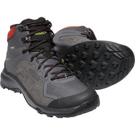 Keen Exp*** Mid WP Schuhe Herren magnet/fiery red